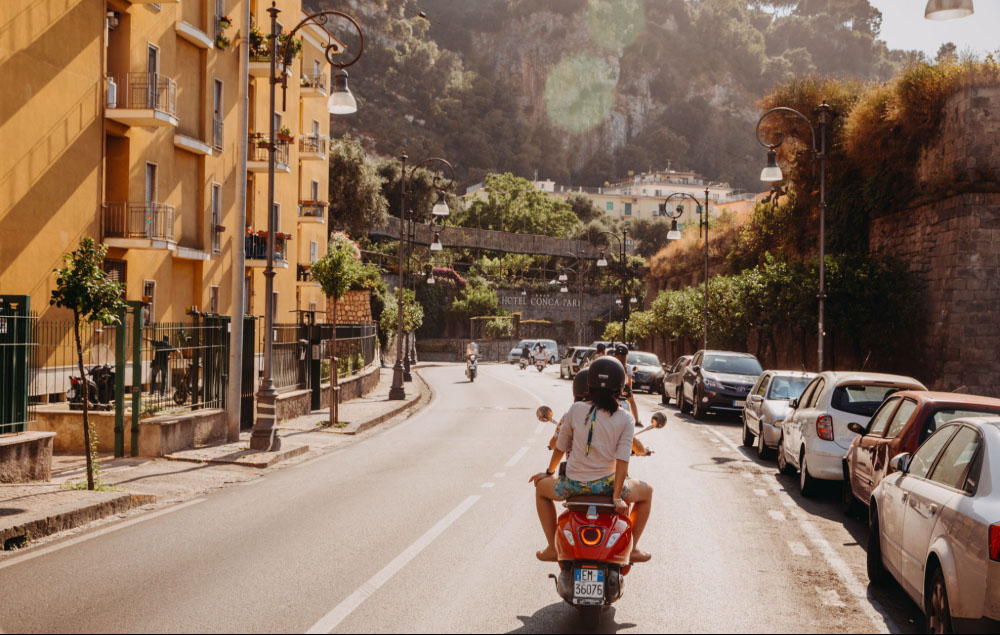 Picture of the Vespa Trip in Amalfi