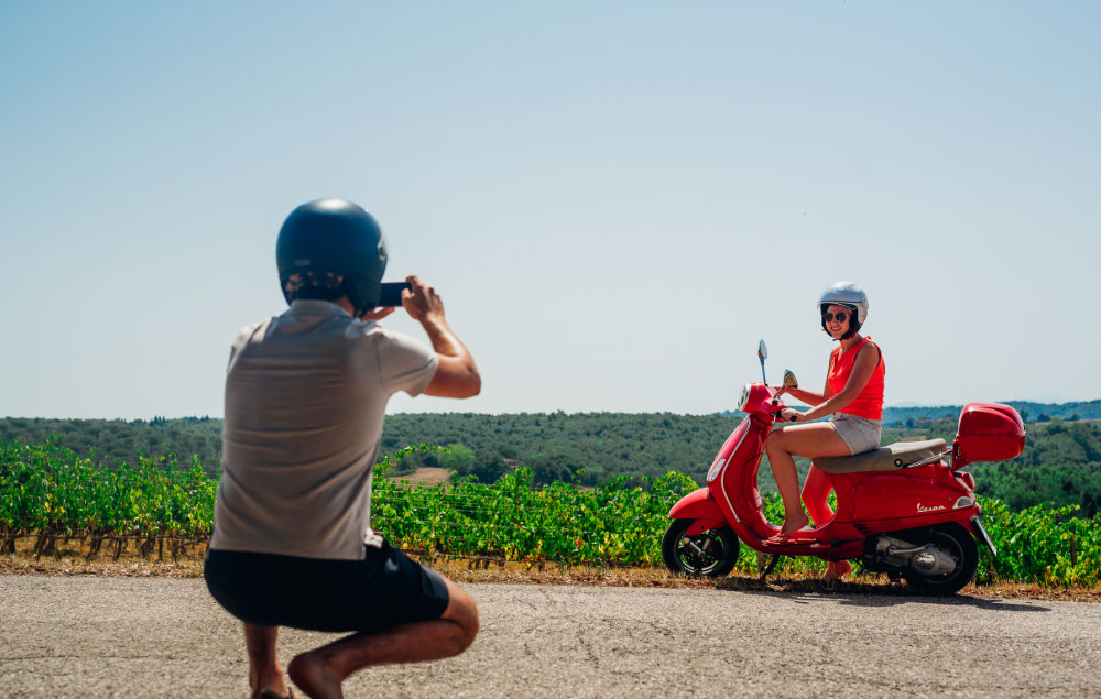Picture of the Vespa Trip in Chianti