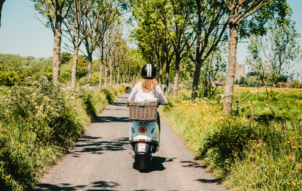 Picture of the Vespa Trip in Bruges